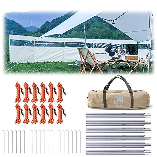 HIKEMAN Camping Windschutz Sichtschutz...