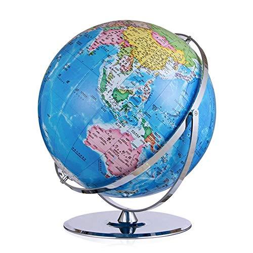 Apertura 42cm Globo HD Estudiante Decoración Oficina Estudio Gift Company Bola del Globo del Mundo de la Tierra Mapa de Rota