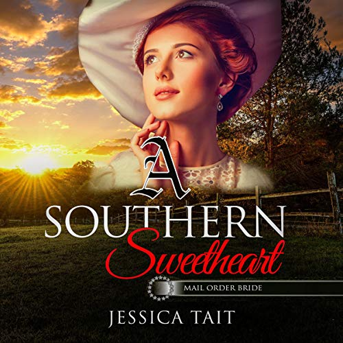 A Southern Sweetheart audiobook cover art