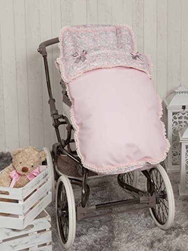 Babyline Caramelo - Saco para silla de paseo, color rosa ⭐