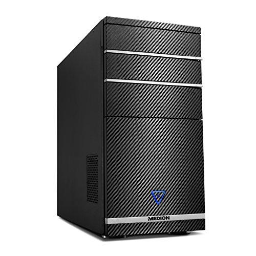 Medion M11–per PC, Intel Athlon 644.0GHz, NVIDIA GeForce GTX 1060–3GB DDR5, Disco rigido da 1TB, 8GB di RAM) Nero