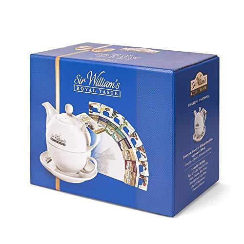 Sir William's Royal Taste Teeservice - Elegante juego de tetera con taza...