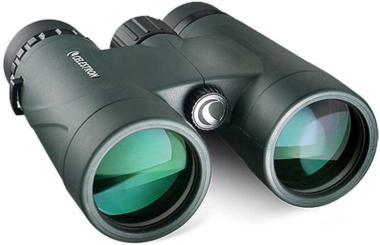 YXLZZO Jumelles à Film Vert de 10x HD à Ouverture de 42 mm (Film de Phase) télescope