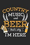 My Best Beers: Notebook for Brewers, Beer and Country Music Lovers