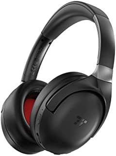TaoTronics Active Noise Cancelling Bluetooth Headphones with Mic, Wireless Headphones with aptX CD-Like Audio, Over Ear Headphones with 22H Playtime for Airplanes Travel Work TV PC Phone