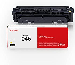 Canon Genuine Toner, Cartridge 046 Yellow (1247C001), 1 Pack, for Canon Color imageCLASS MF735Cdw, MF733Cdw, MF731Cdw, LBP...