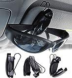 ❶ So ist Ihre Brille sicher versorgt und mit einem Handgriff sofort wieder parat ❷ Praktische Brillenhalterung für Ihr Auto. Mit stabiler Metallklammer ❸ Öffnet sich auf Knopfdruck ❹ Maße ohne Klammer: ca. 30 x 75 x 25 mm. Brillenablage - Außerdem re...