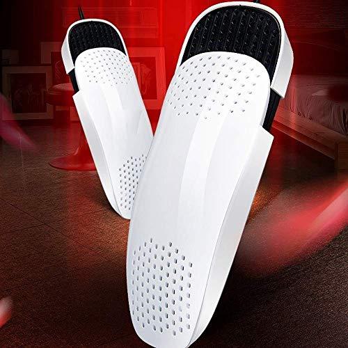 Secador de calzado Secador de zapatos Calentador de arranque, calentador de calzado de esquí portátil eléctrico, con interruptor independiente Esterilización retráctil, 14.8W Guantes Socks Secador de