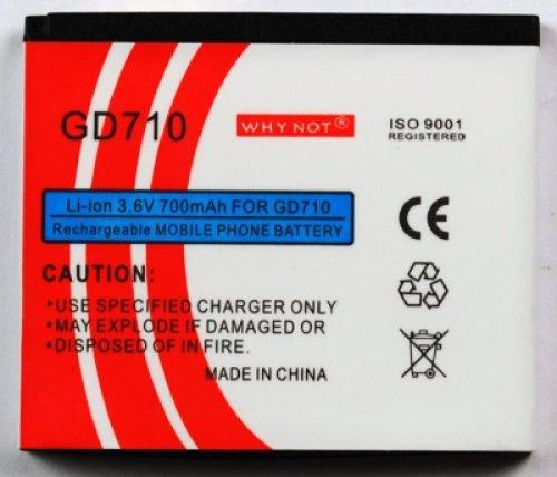 Batteria per LG BL20 New Chocolate-GD710-GS500 Velvet-GD330 Secret Lite