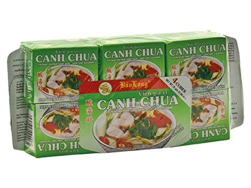 Canh Chua Bouillonwürfel (Vietnamesische Würzmischung für Saure Fischsuppe) 3 x 75 g