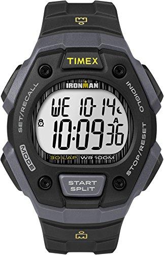 Timex Orologio Digitale Quarzo Unisex con Cinturino in Resina TW5M09500