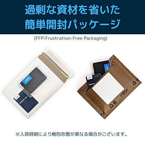 『【Amazon.co.jp 限定】 Crucial SSD 240GB 7mm / 2.5インチ BX500シリーズ SATA3.0 3年保証【PlayStation4 動作確認済】 正規代理店保証品 CT240BX500SSD1Z [FFP]』の2枚目の画像