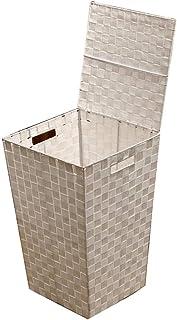 LF- Panier de rangement pour vêtements sales de salle de bain (taille : 35 x 35 x 55 cm)