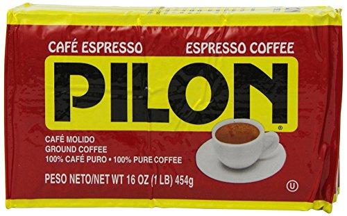 Pilon Espresso Coffee, 16 Ounce (Pack of 12)