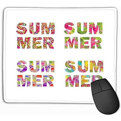 Anti-slip dikke rubber grote muismat 30X25CM platte stijl snoepjes spel ansichtkaart uitnodiging web ontwerp snoepjes wit oranje zwart