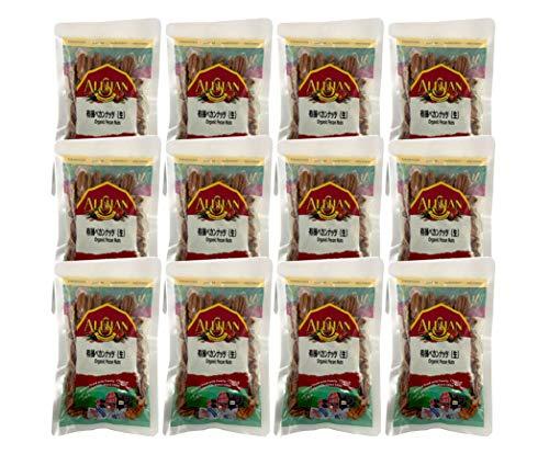 無添加 有機 ペカンナッツ ( 生 ) 100g×12個< 業務用 ・箱売り>★ 宅配便 ★ アメリカの お菓子作り には欠かせない ナッツです。クルミの渋みを除いたようなクセのない味です。 無塩 。