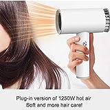 Fön USB Cordless wiederaufladbare tragbare Schlag heißes und kaltes Gebläse geeignet beweglicher drahtloser USB aufladbare Haartrockner intelligente Akku-2-Mode Fön Blower - 4