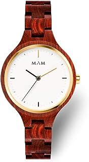 MAM Originals · Geese   Orologi da donna I Desing minimalista I Orologi in legno ecosostenibile I Alta qualitá a buon prezzo