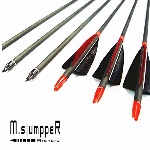 MS Jumpper Carbon Archery Arrows
