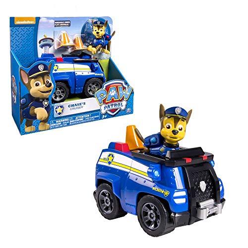 PAW PATROL Selección de vehículos | Figuras en Movimiento | Patrulla Canina, Figura:Chase
