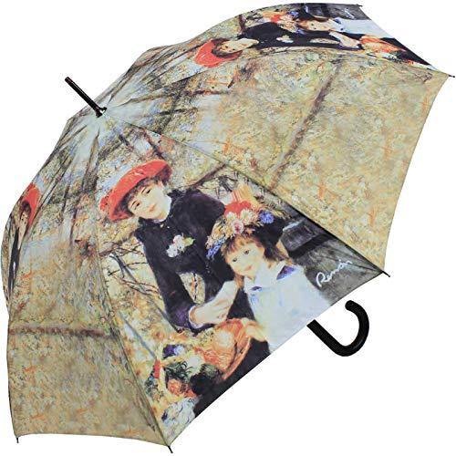 Doppler Regenschirm Stockschirm Art Collection Kunstdruck - Zwei Schwestern