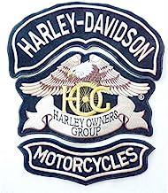 Patch HARLEY DAVIDSON toppa ricamo termoadesivo cm 16 x 3,5 REPLICA 1306