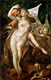 Steve Art Gallery Venus and Adonis,Bartholomeus Spranger,60x40cm