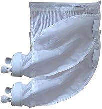 CROSYO Bolsa de Filtro de Limpiador de Piscinas 2 unids útiles con Cremallera duraderas Bolsas de reemplazo Bolsas de Recambio Pool Aspirador para Polaris 280 480 Modelo (Color : 2pc)