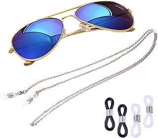 COMVIP Sunglasses Chains Eyeglass Holders Stainless Steel Eyewear Straps