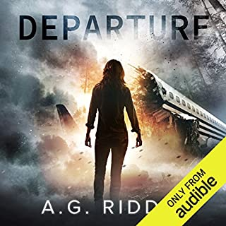 Departure                   By:                                                                                                                                 A.G. Riddle                               Narrated by:                                                                                                                                 Nicola Barber,                                                                                        Scott Aiello                      Length: 10 hrs and 10 mins     351 ratings     Overall 4.1