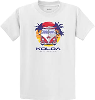 Koloa Surf Custom Graphic Heavyweight Cotton T-Shirts in...