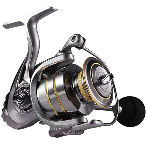 DDoyci 13 + 1BB Reel de Hilado con Carrete de Pesca Pesca 5.1: 1 5.5: 1 Relación de Engranajes Carrete de Pesca de Carpa (Spool Capacity : 1000 Series)