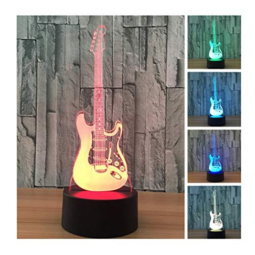 50-UK Nightlights 3d, 7Modifier los colores Touch Control Noche Lámpara, mejor regalo para amigos niños
