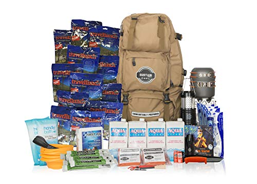 Comfort 4 - Überlebenstasche für 4 Personen - sichert eine Versorgung von 72 Stunden nach einer Katastrophe - mit hochwertigem Equipment,...