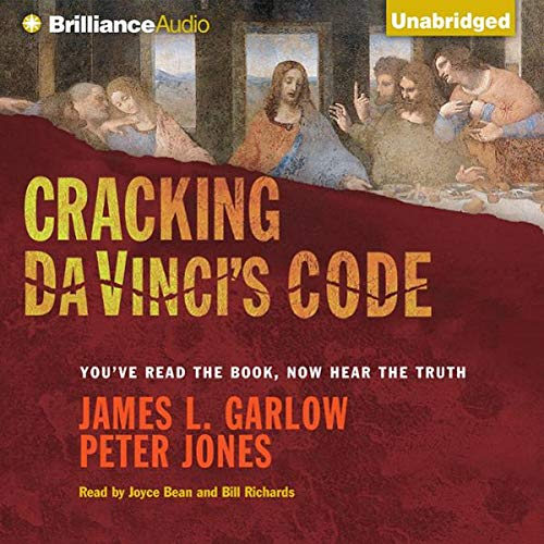 Cracking Da Vinci's Code audiobook cover art