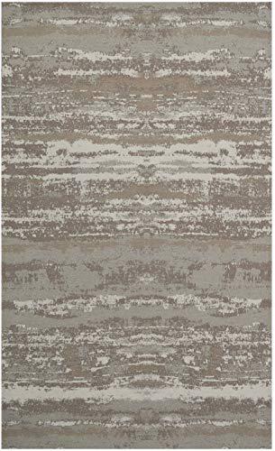 Bakero Teppich, Polyester/Baumwolle, Natur, 180 x 120 x 0.6 cm