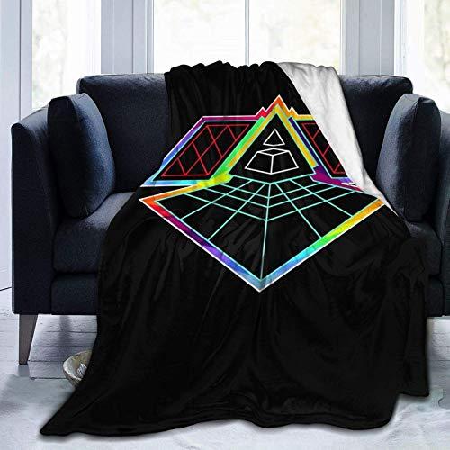 shenguang Daft Punk Softdecke Winter Lightweight Quilt Warm halten Decke Bett Sofa Home 60 'x50'
