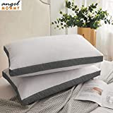 Angel Mommy Pregents Hypoallergenic Gusseted Pillow - Side Back Sleepers Set of 2