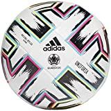 adidas Uniforia Training Soccer Ball White/Black/Signal Green/Bright Cyan 3