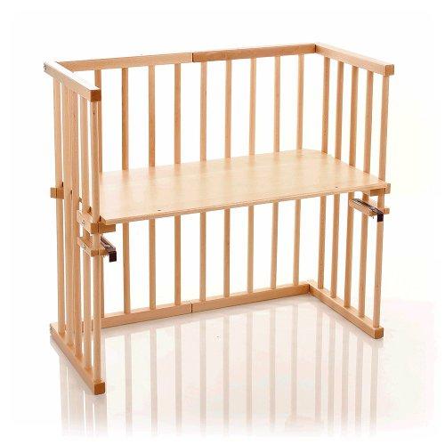 Babybay Midi 120101 Lit à barreaux pour bébé - Bois naturel verni
