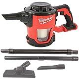 Milwaukee 4933459204 - Aspirapolvere manuale a batteria M18 CV-0 con asta di 2 m in legno 'GF Lotter'