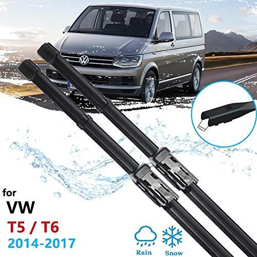 SPLLEADER Cuchilla de limpiaparabrisas para Volkswagen VW Transporter T5 T6 Caravelle Multivan...