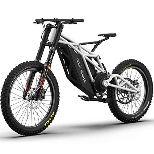 LJLYL Bicicletta Fuoristrada per Adulti, con Bici da Mountain Bike elettrica a Batteria al Litio 48V...