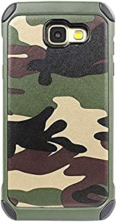 WSDDNTZ Jamular Military Camouflage Case For Samsung Galaxy A3 A5 A7 2016 2017 Hard Shockproof Cover For Samsung Galaxy J5 J7 2016 Case For Samsung J5 2015 Green