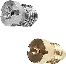 FLAMEER 2 stuks mondstuk tip voor professionele schuim mondstuk generator 1.1mm A+B materiaal