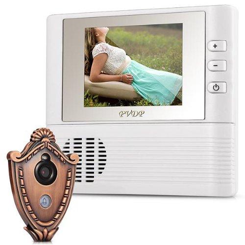 Videocitofono Monitor 2,8  Spioncino Digitale LCD Porta Visore per Sicurezza
