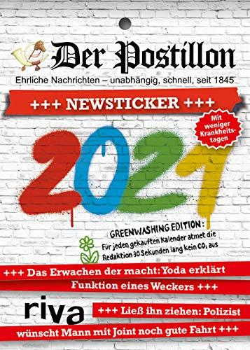 Der Postillon +++ Newsticker +++ 2021: Tagesabreißkalender