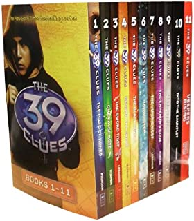 The 39 Clues Collection 11 Books Set Pack Plus 66 Digital Game Cards Find Codes