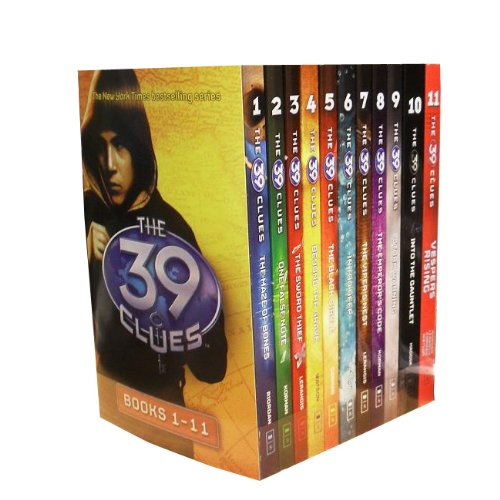 the 39 clues book set - 2