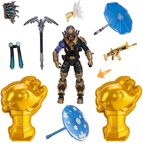 Buy Fortnite Cyclo Solo Mode Core Figure And 2 Mythic Goldfish Collectibles 4 Inch Collectible Action Figure Plus Accessories Toys R Us